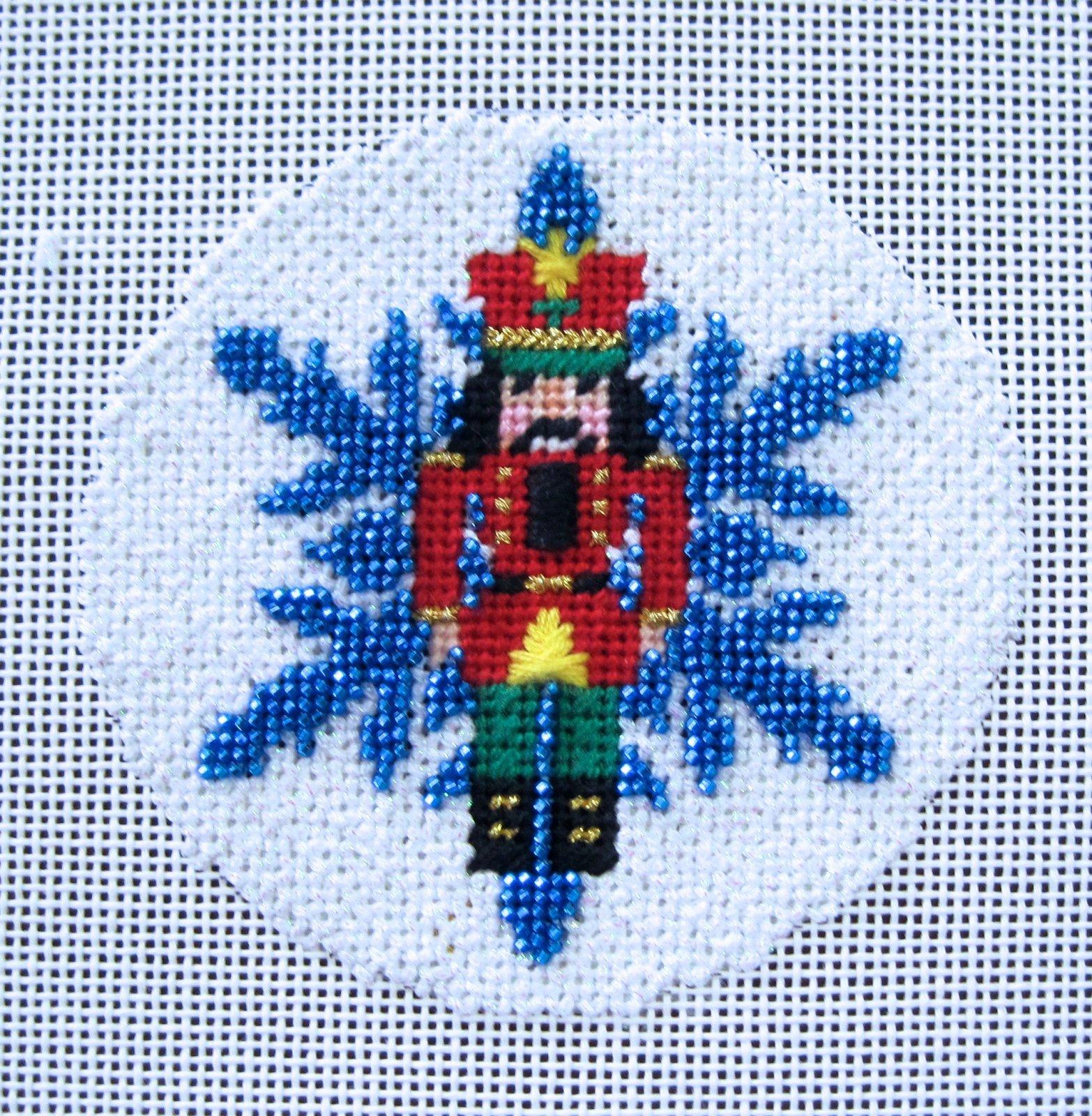 Nutcracker  Beaded Snowflake Stitch Guide