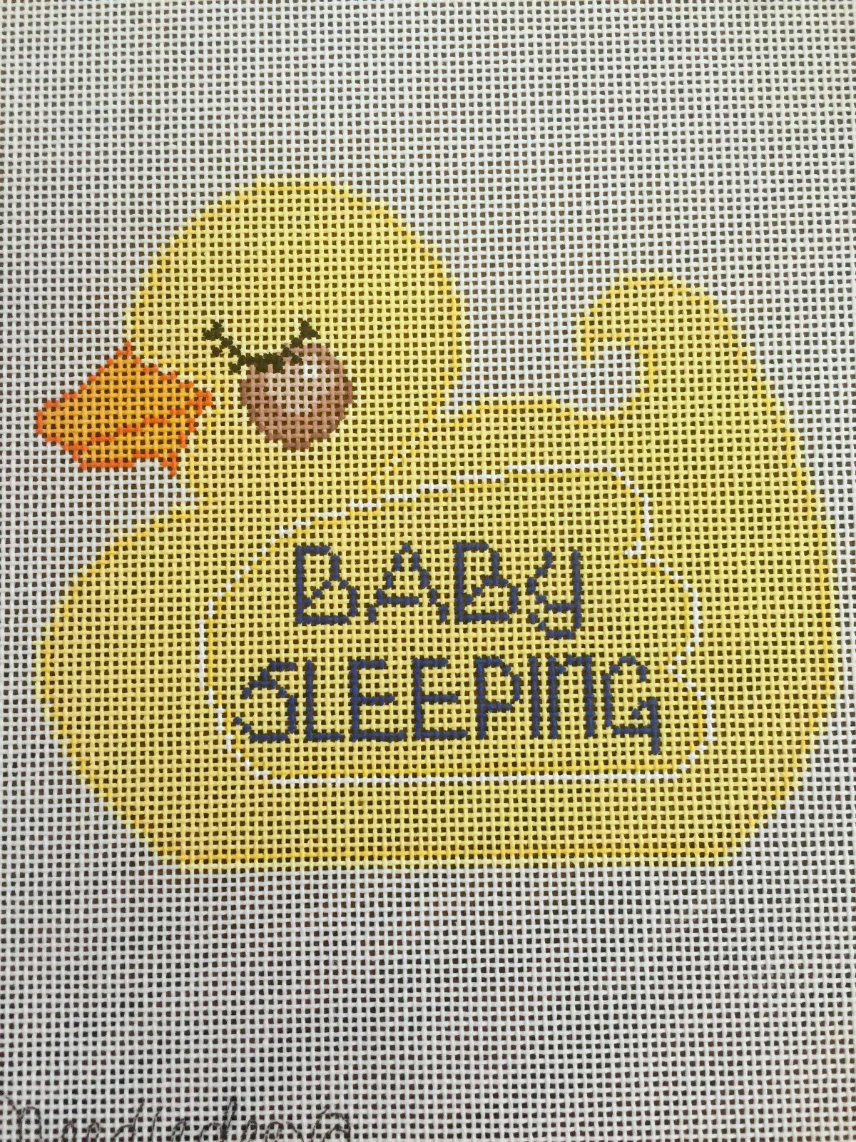 Yellow Duck Baby Sleeping