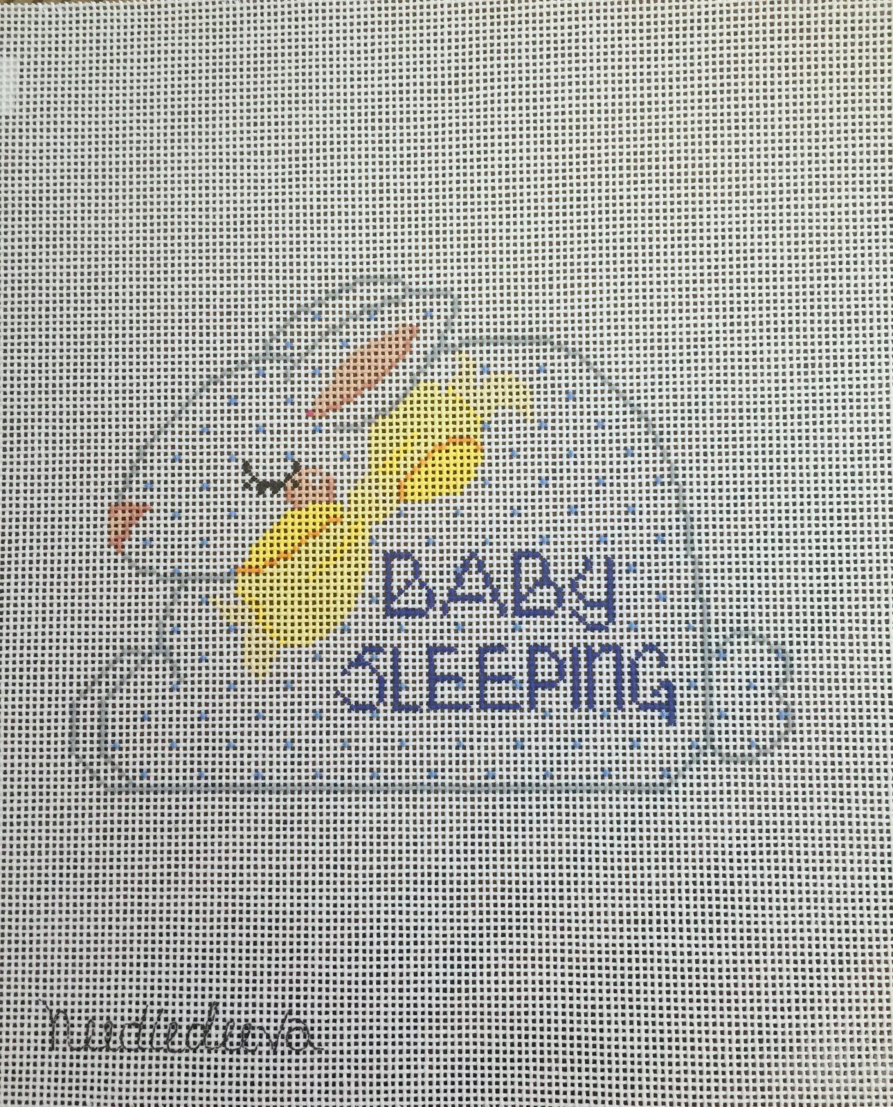Bunny Baby Sleeping Sign