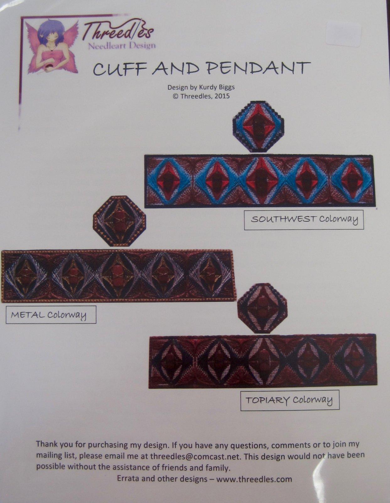 Cuff and Pendant