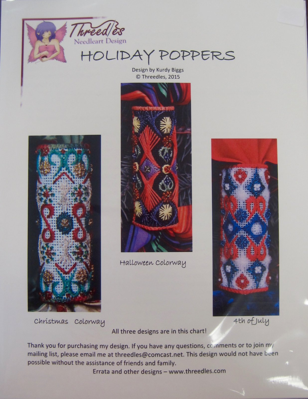 Holiday Poppers