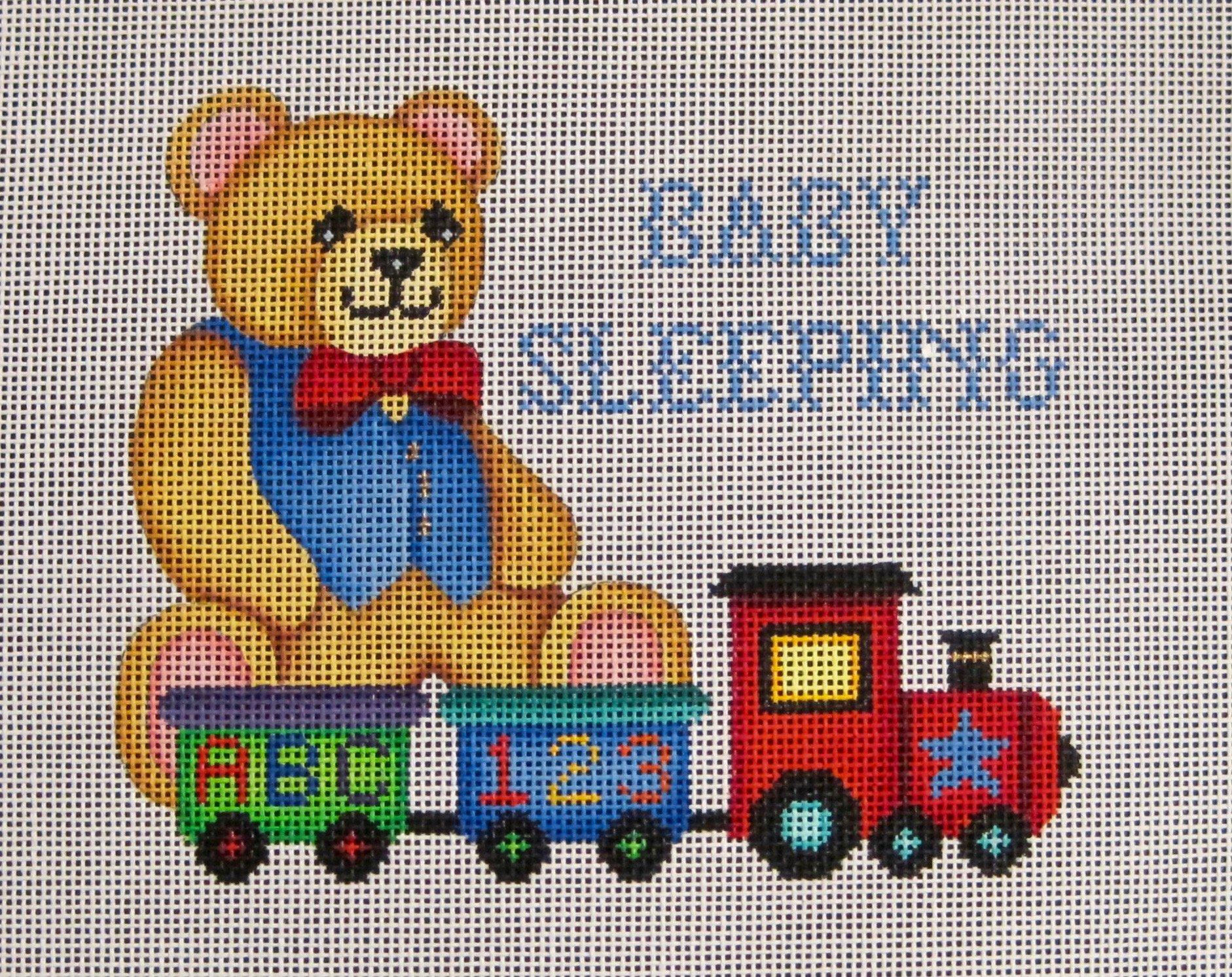 Bear On Train/Baby