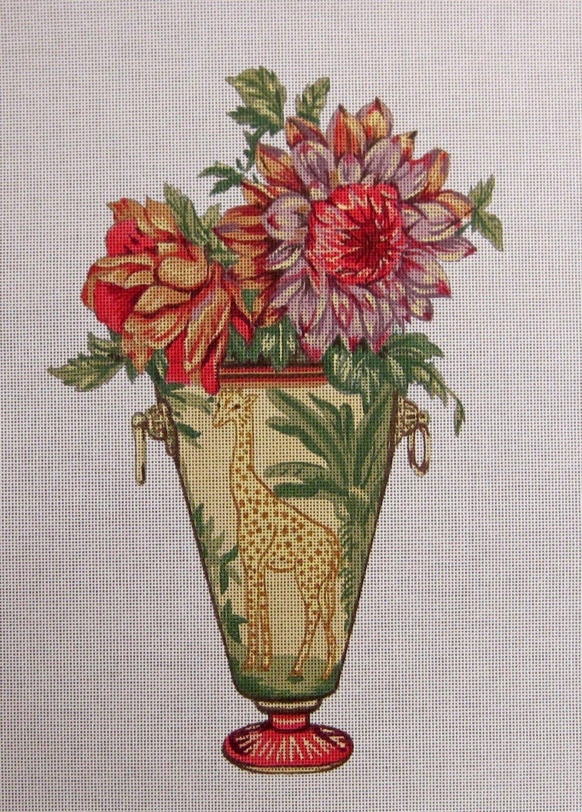 Giraffe Vase Floral