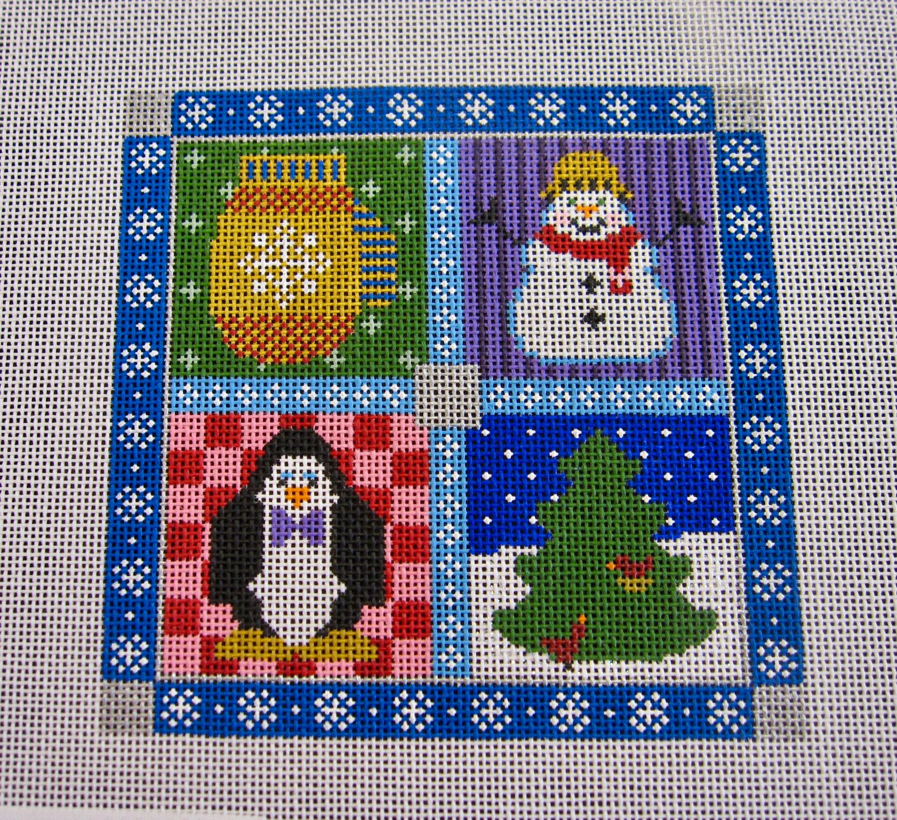 Winter Scene Square