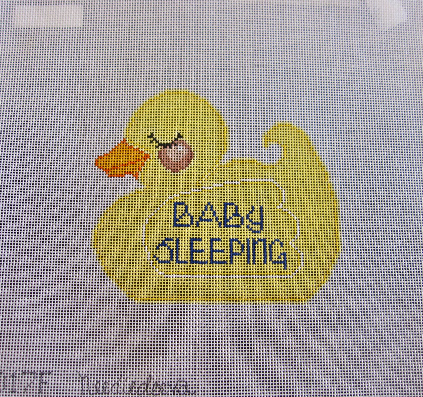 Baby Sleeping Ducky