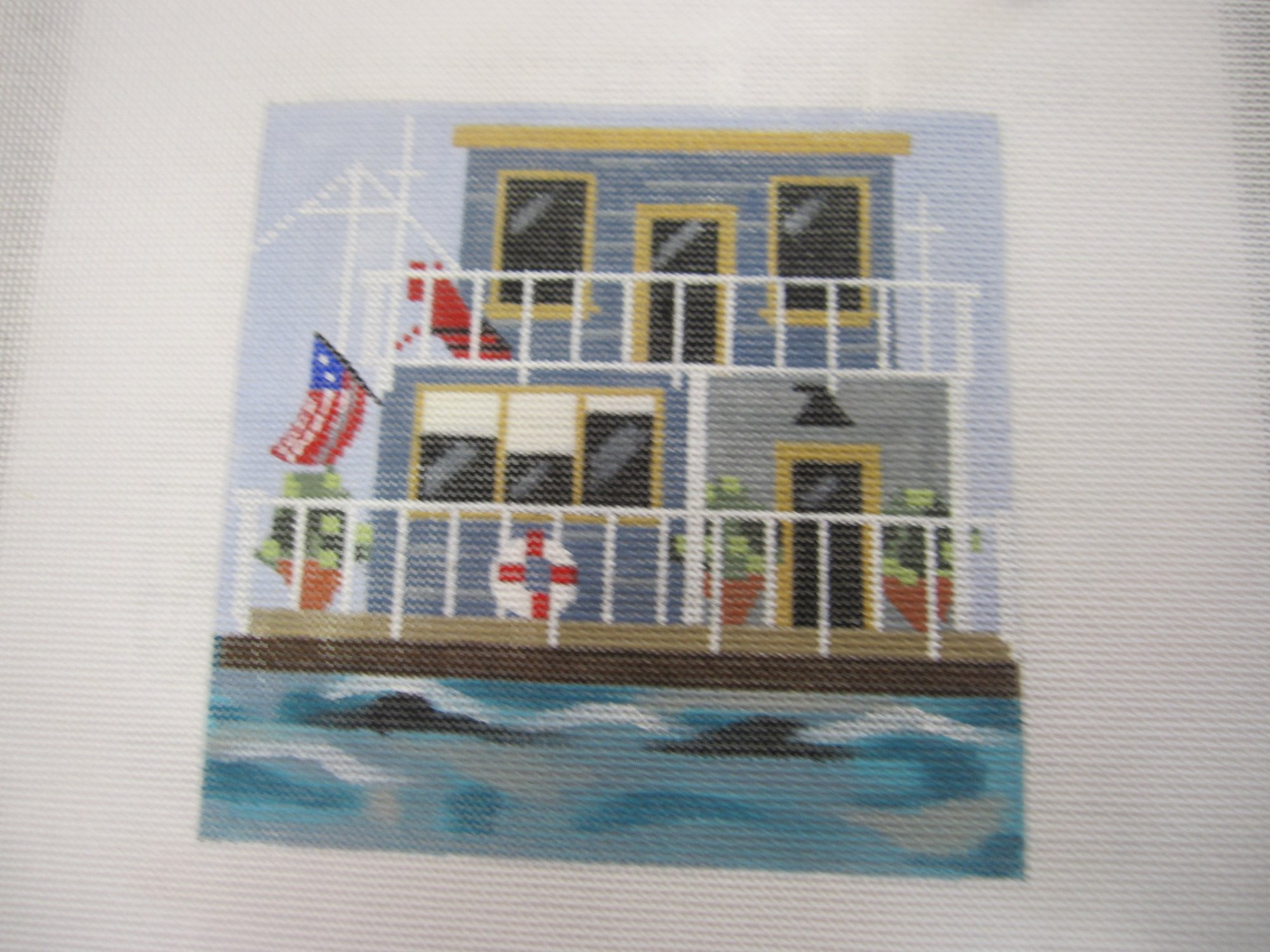 Boat House with Stitch Guide