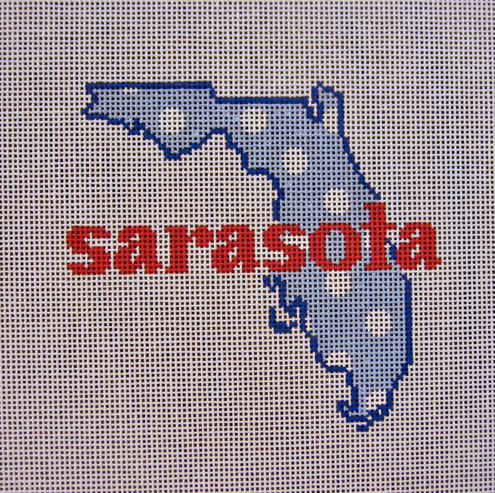 Sarasota FL State Shape