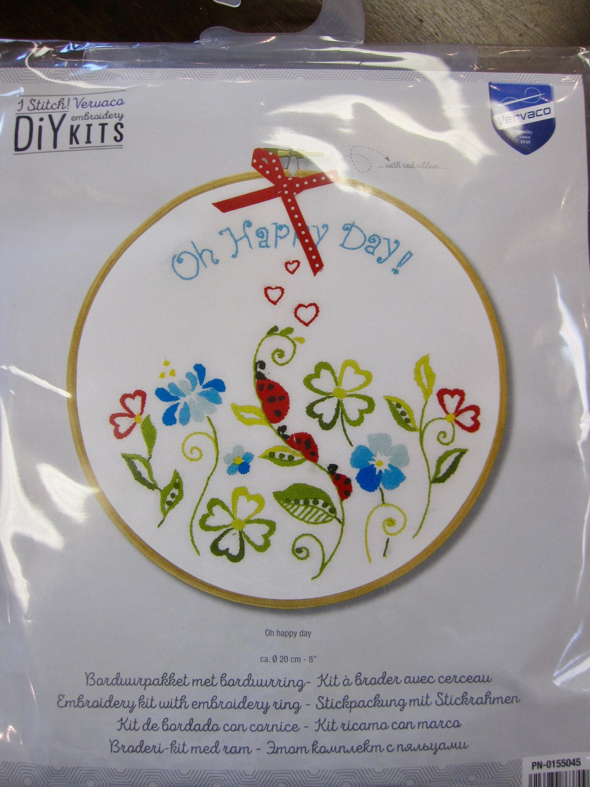 Oh Happy Day Embroidery Kit