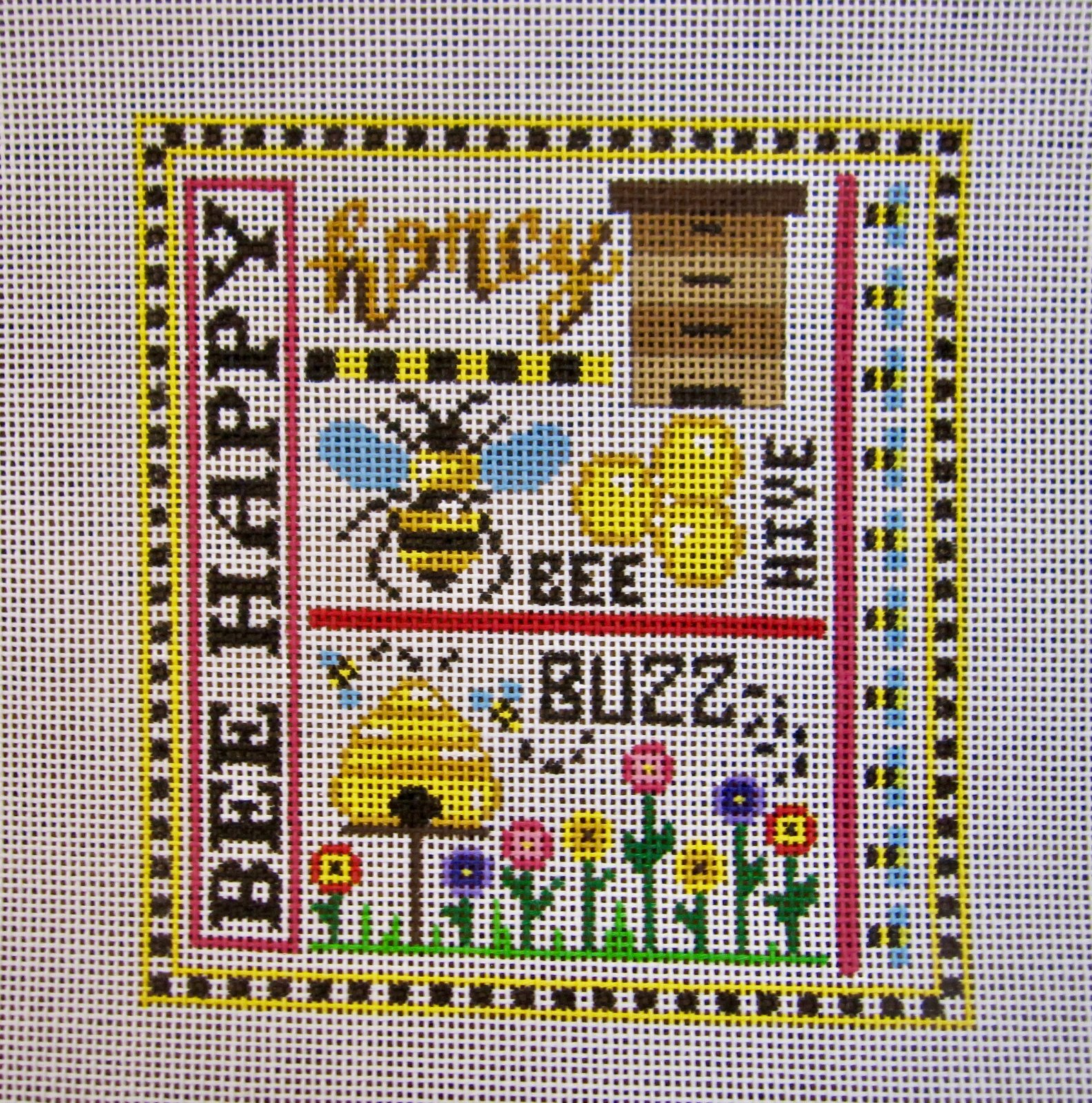 Bee Happy Sampler