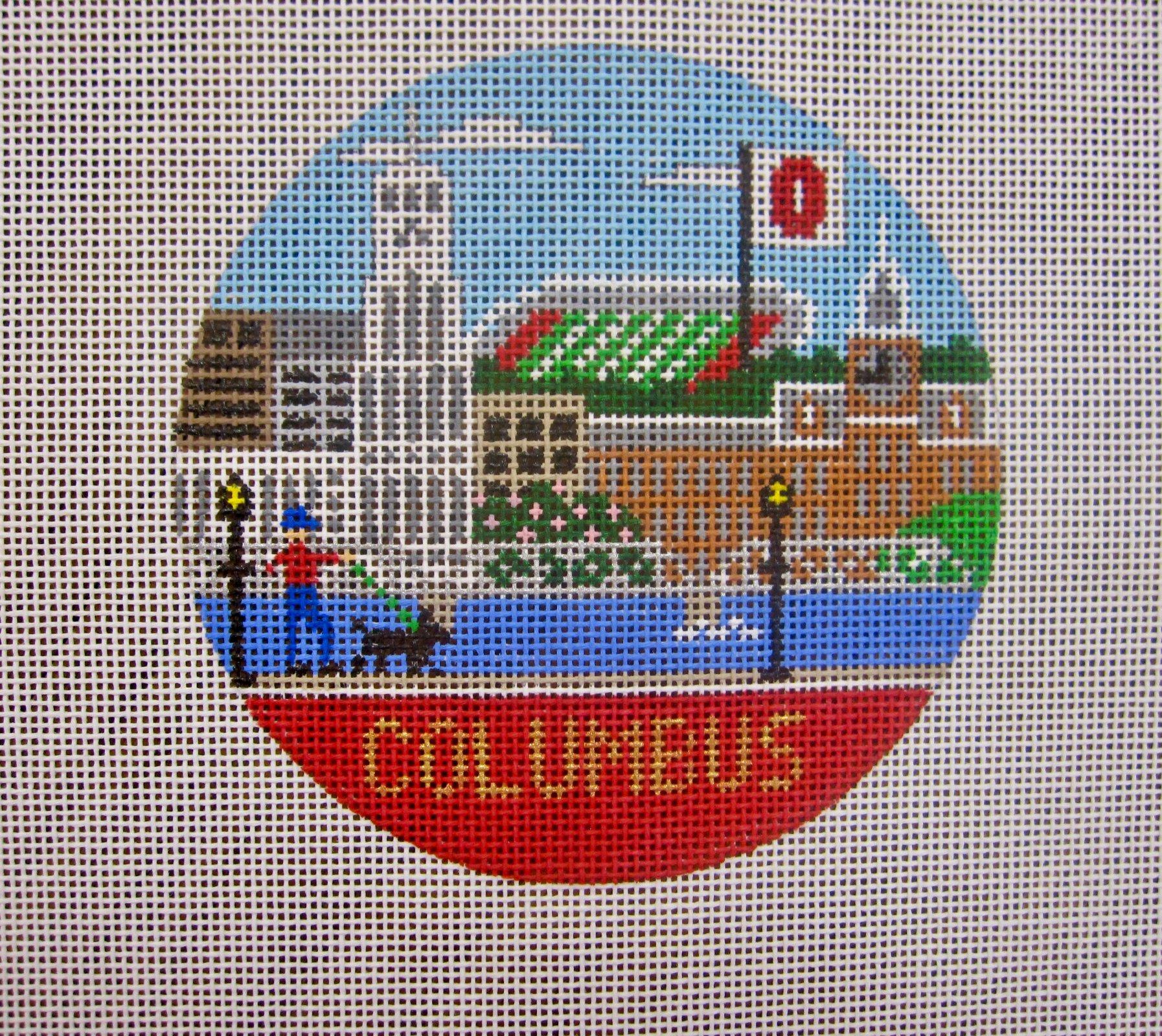 Columbus OH round