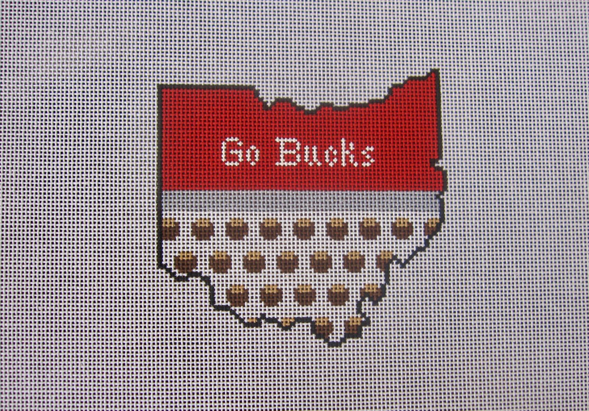 Ohio State Shape - Go Bucks