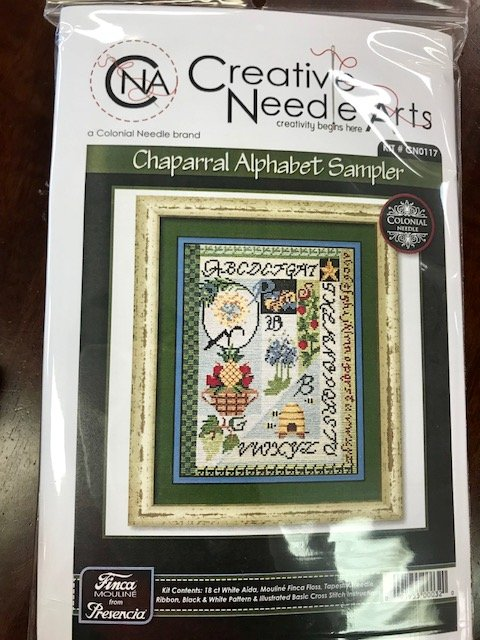 Chaparral Alphabet Sampler