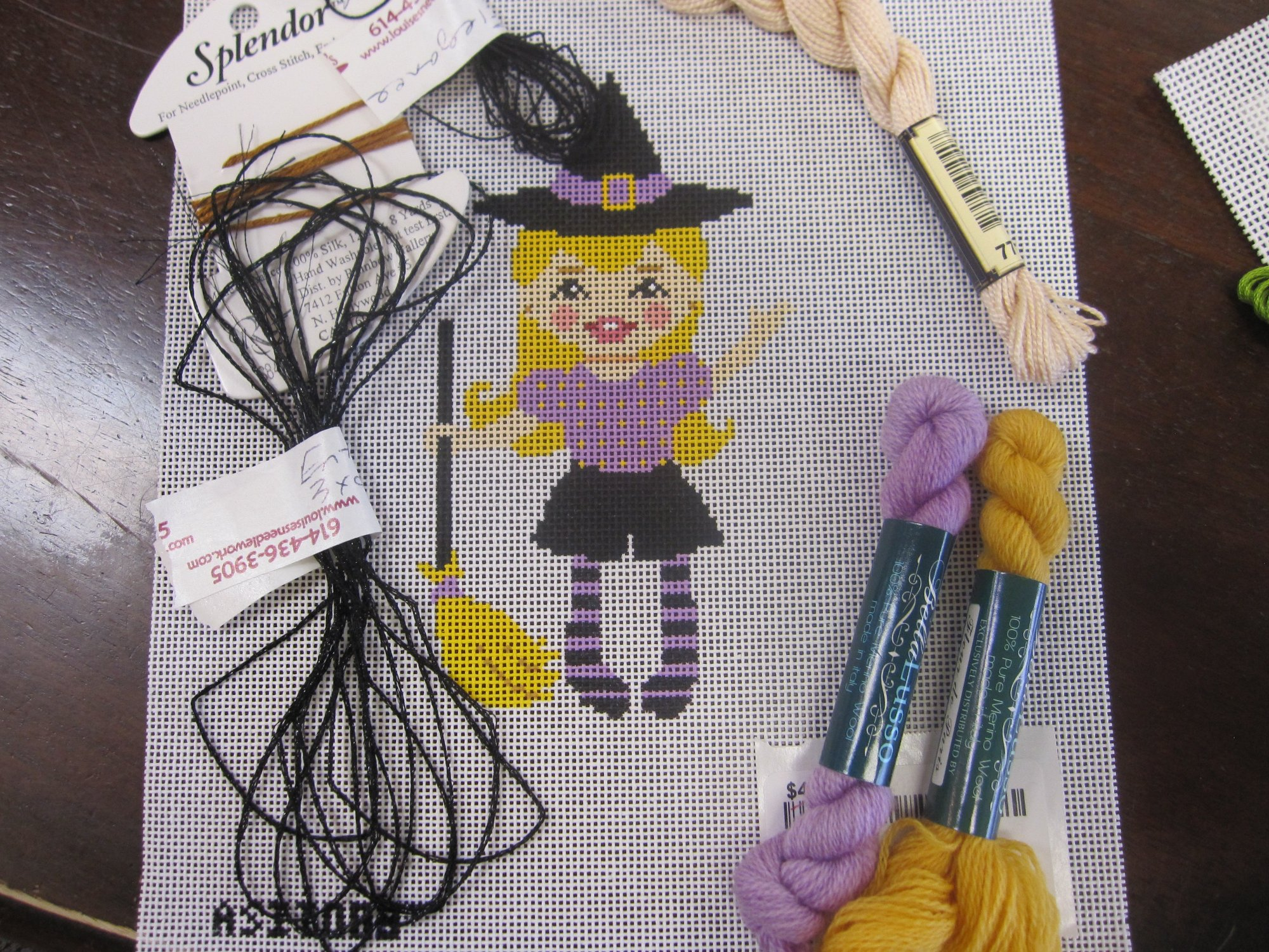 Girl Witch Trick or Treater Kit