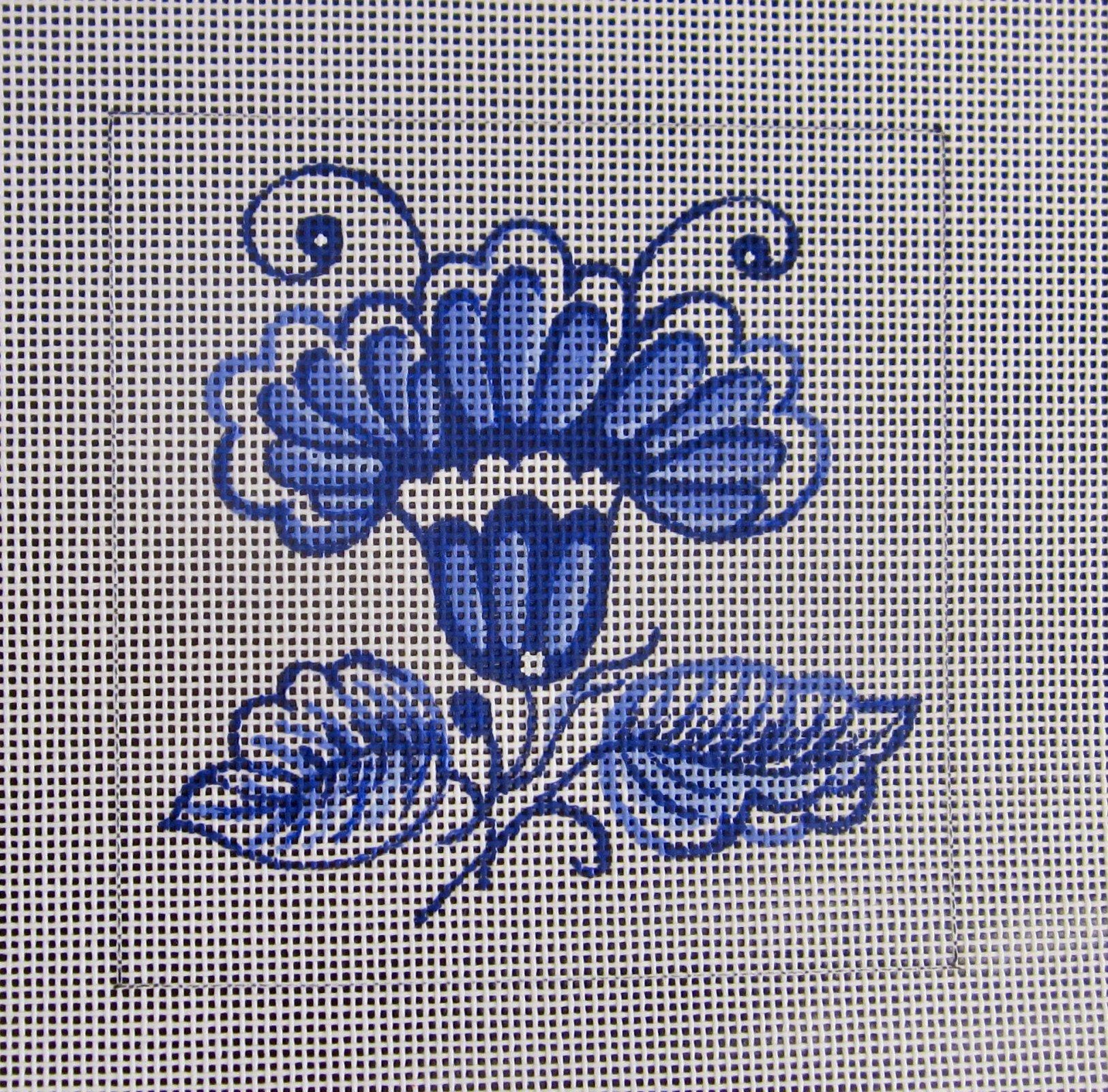 Delft Tiles - Iris