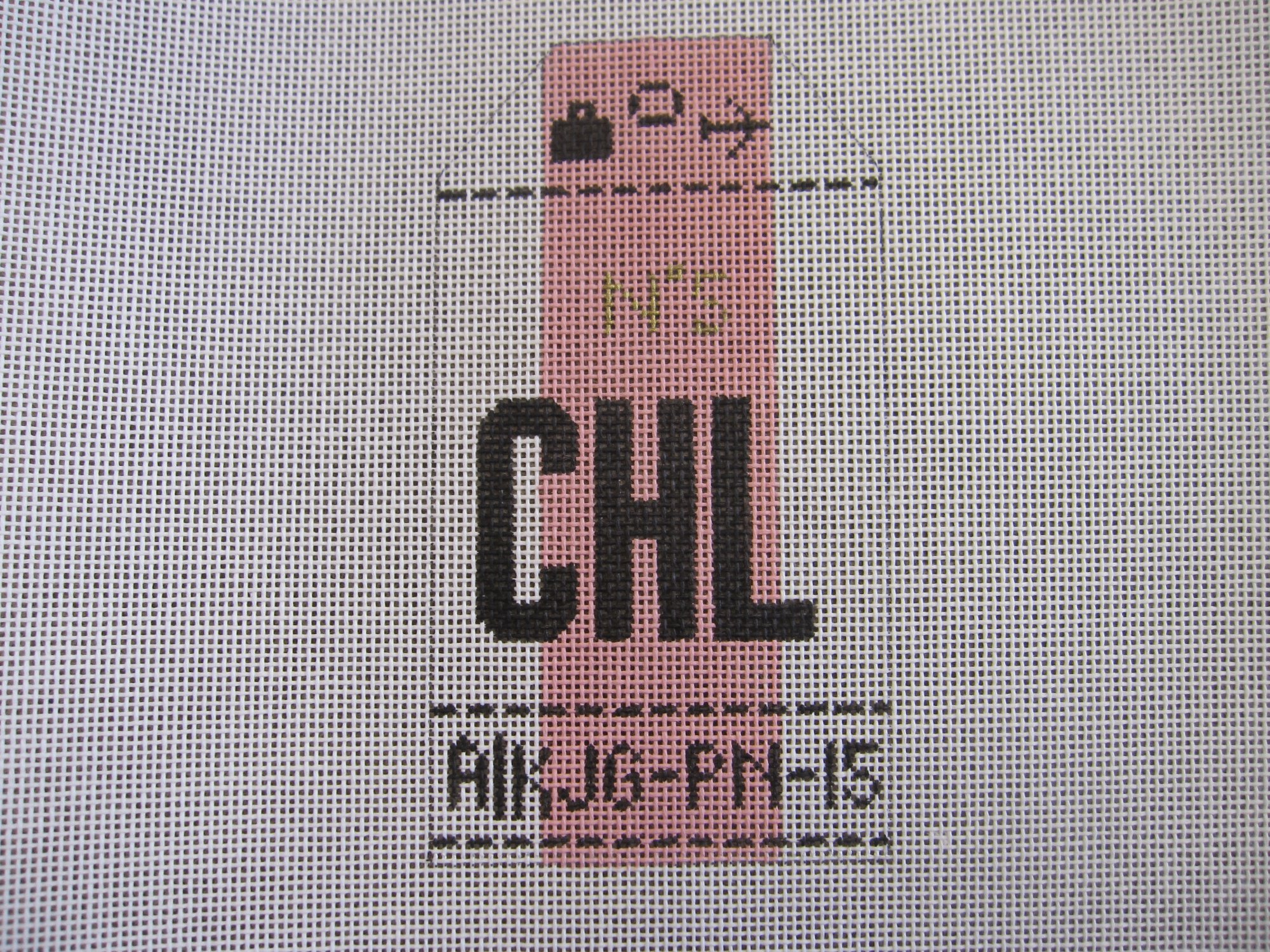 Airport Luggage Tag - Chanel