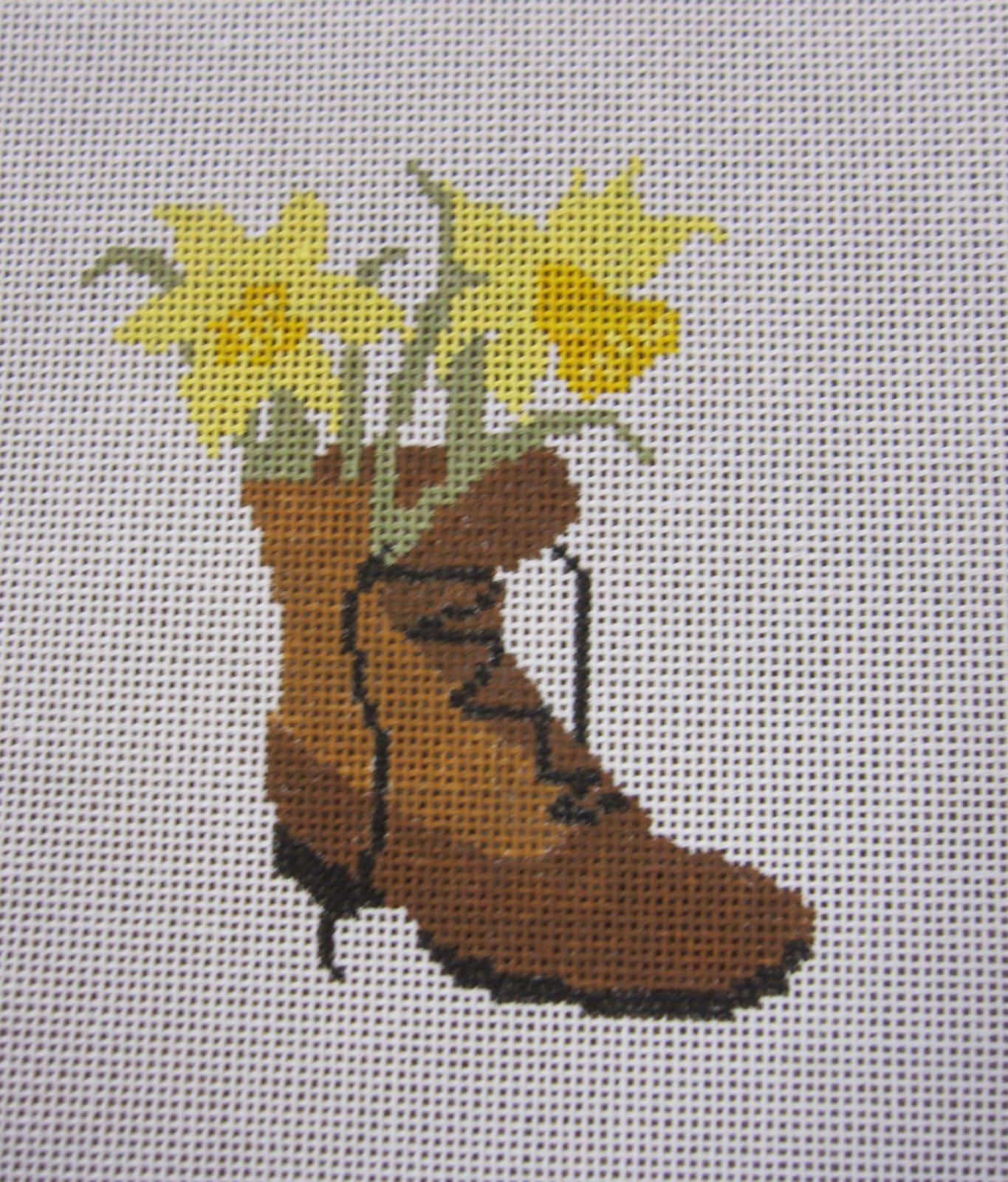 Daffodil in Boot