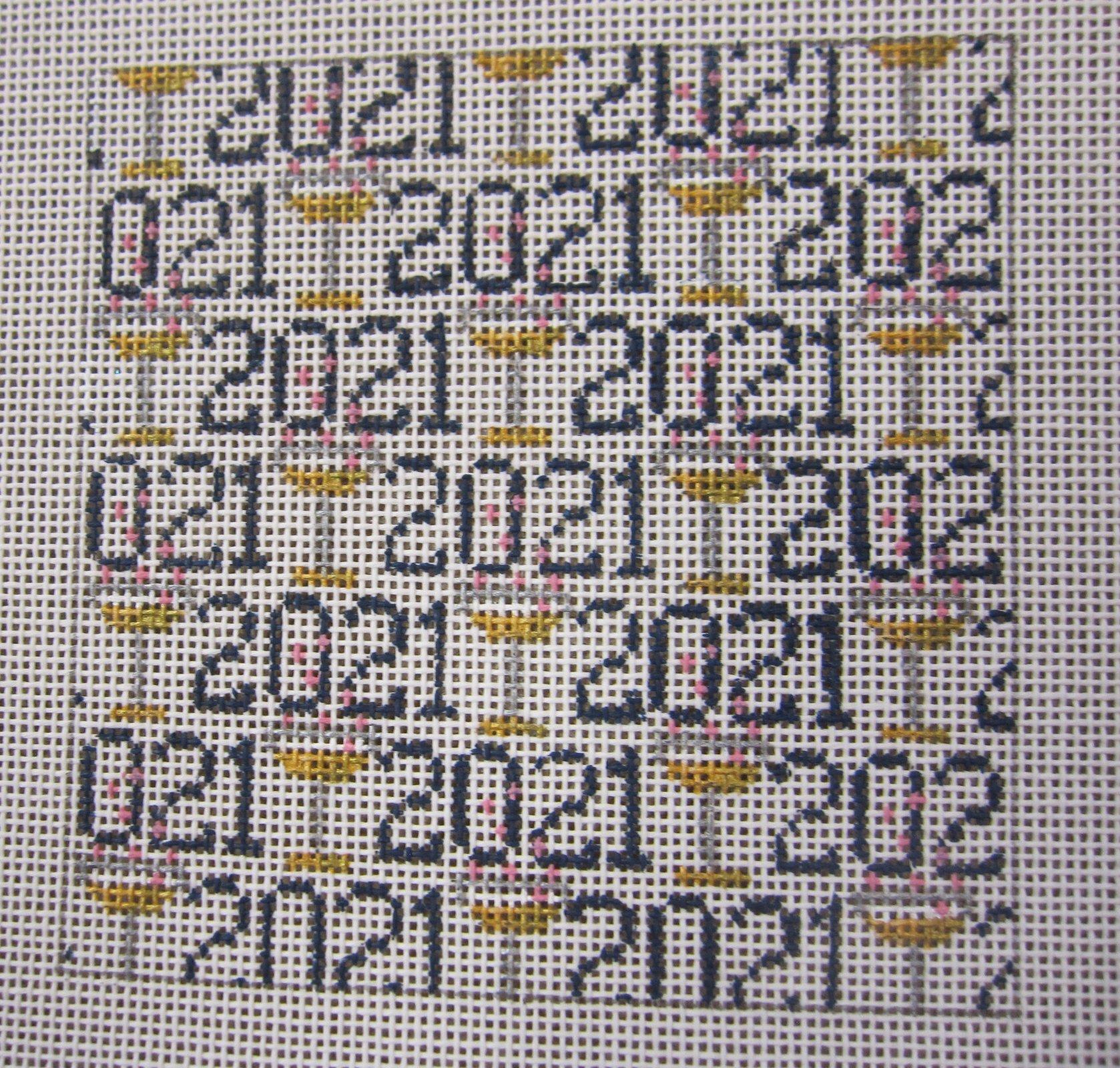 2021 Square for 4 frame
