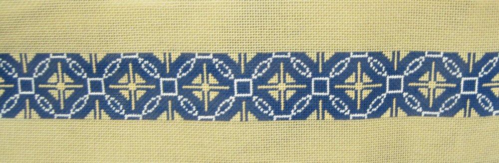 Blue and White Belt