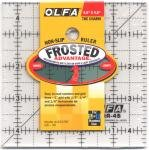 Frosted 4.5x4.5 Ruler