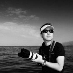 Masa Ushioda underwater photographer headshot