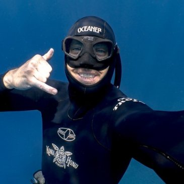 Byron Kay freediving instructor & Ocean Currents Podcast Host