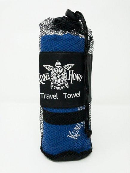 travel towel in mesh bag