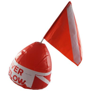 Inflatable Dive Buoy With Flag