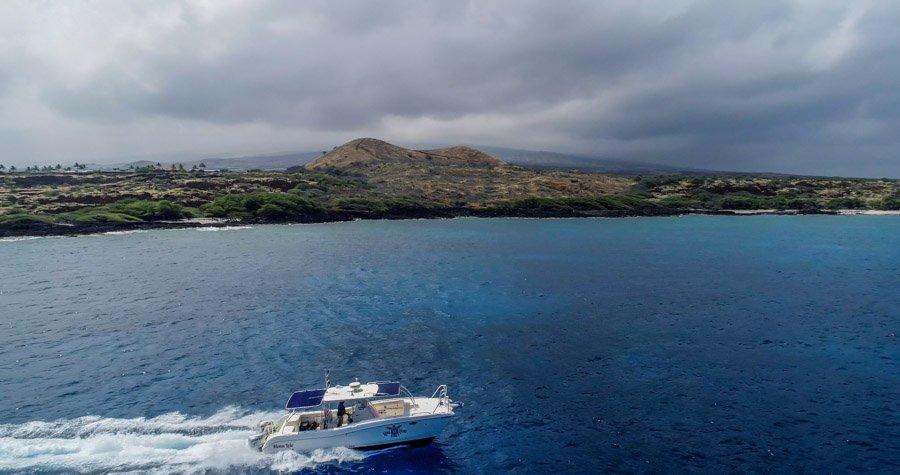 Dive Boat Kona