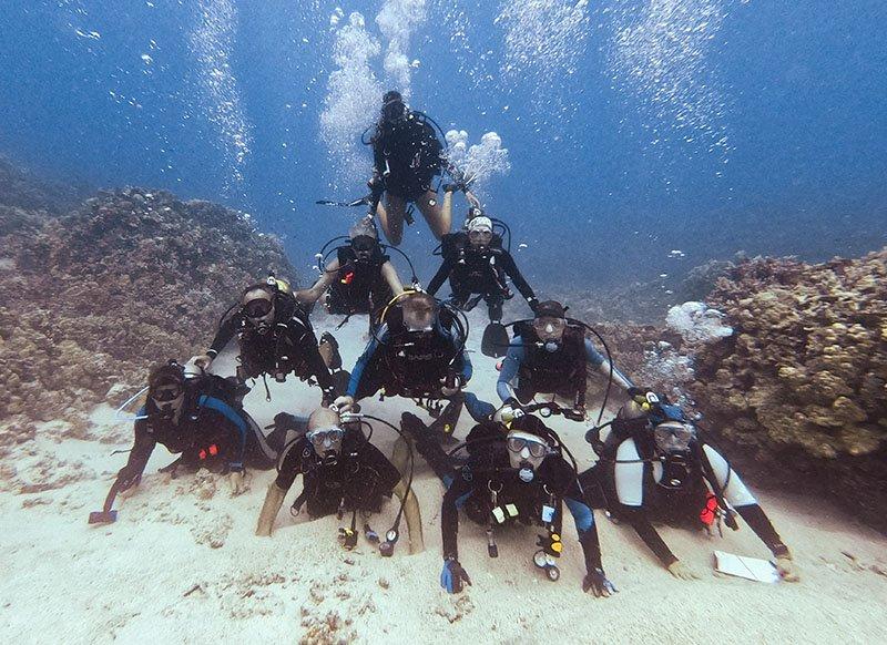 Kona Dive Club | Kona Honu Divers Ohana Dive Club