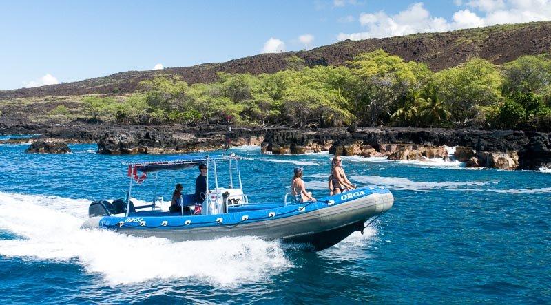 Private Kona Snorkel Boat