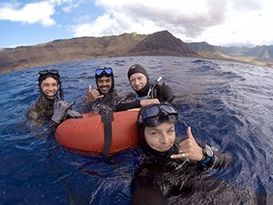 freediving class in hawaii