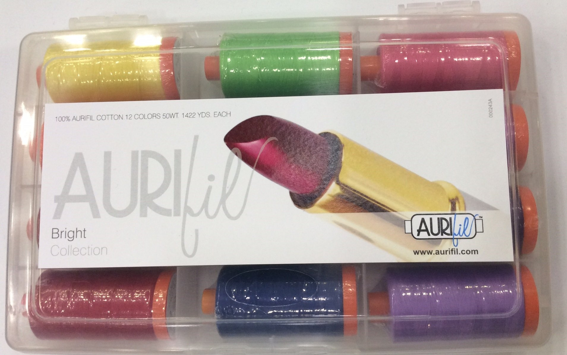 Aurifil's Bright Collection