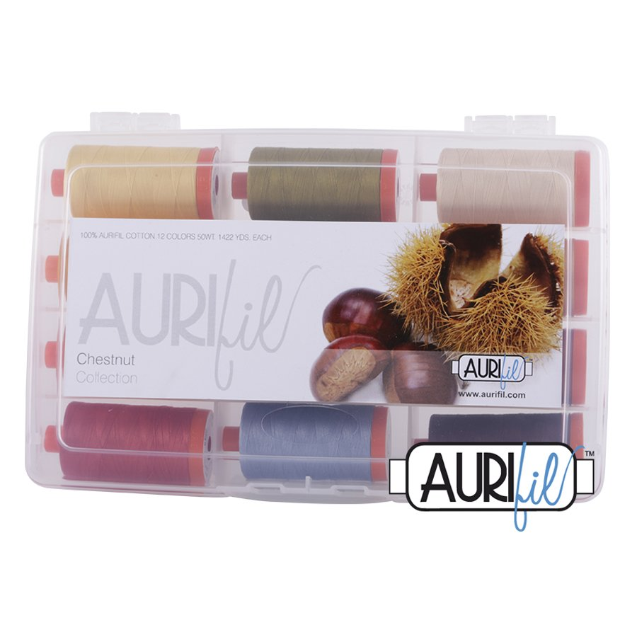 Aurifil's Chestnut Collection