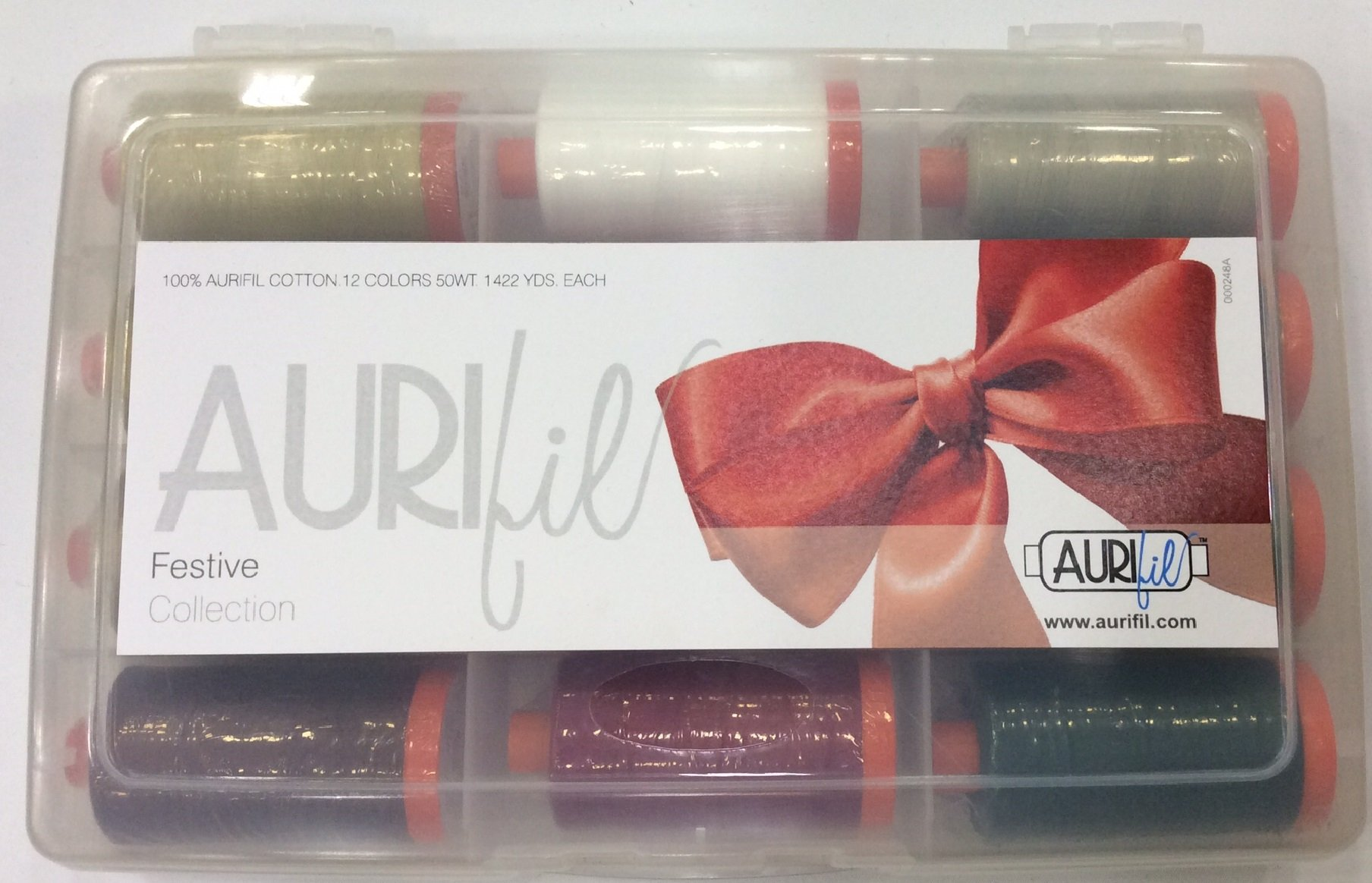 Aurifil's Festive Collection