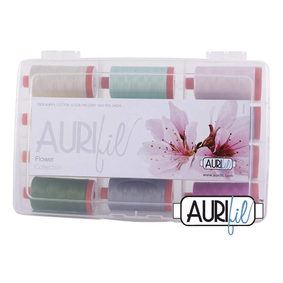 Aurifil's Flower Collection
