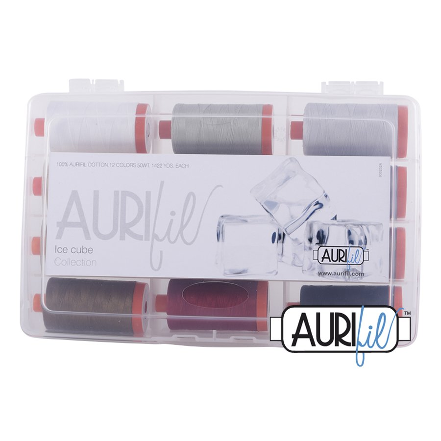 Aurifil's Ice Cube Collection