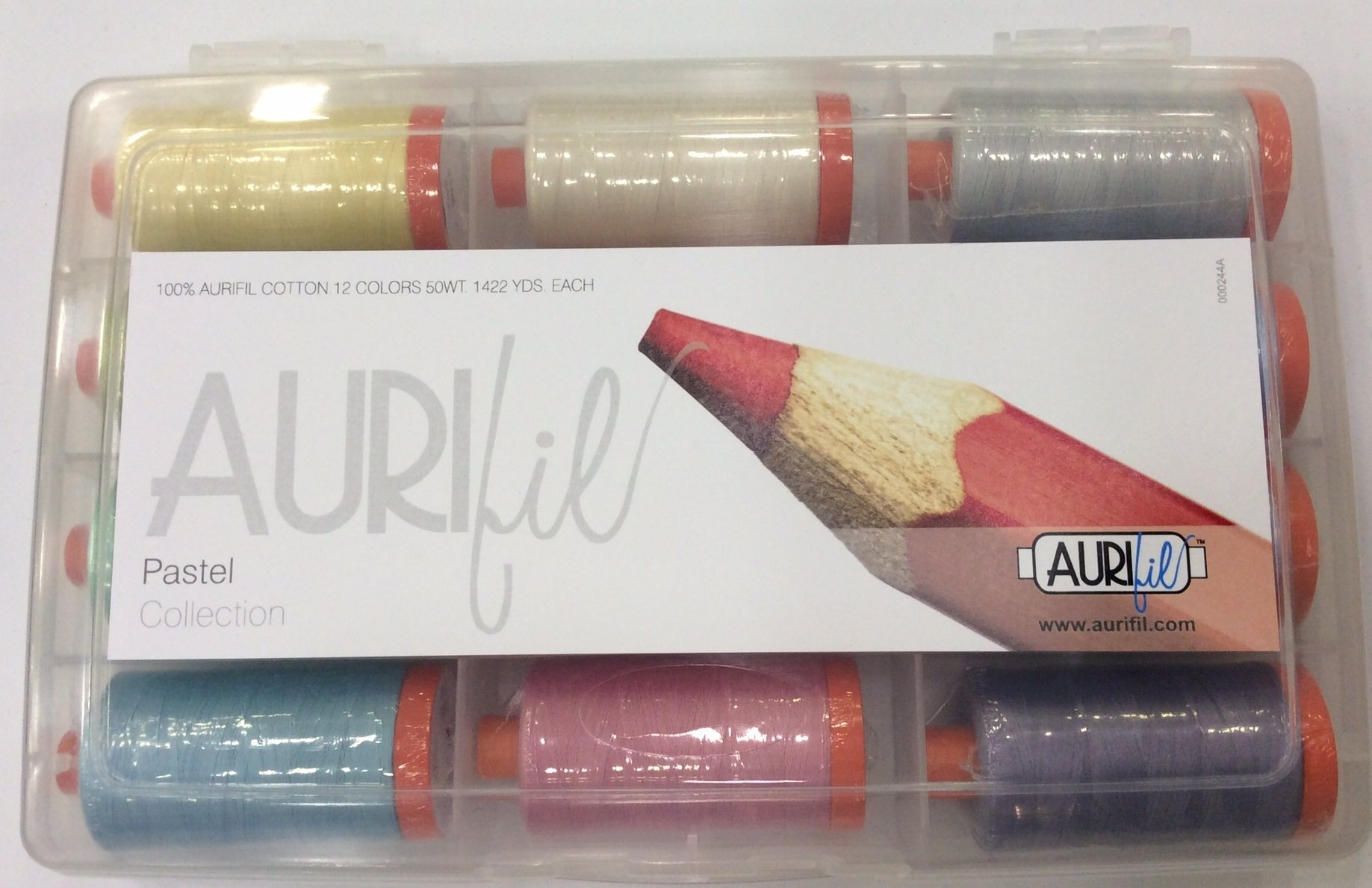 Aurifil's Pastel Collection