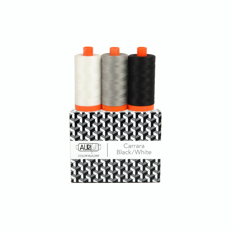 Color Builder Carrara Black/White