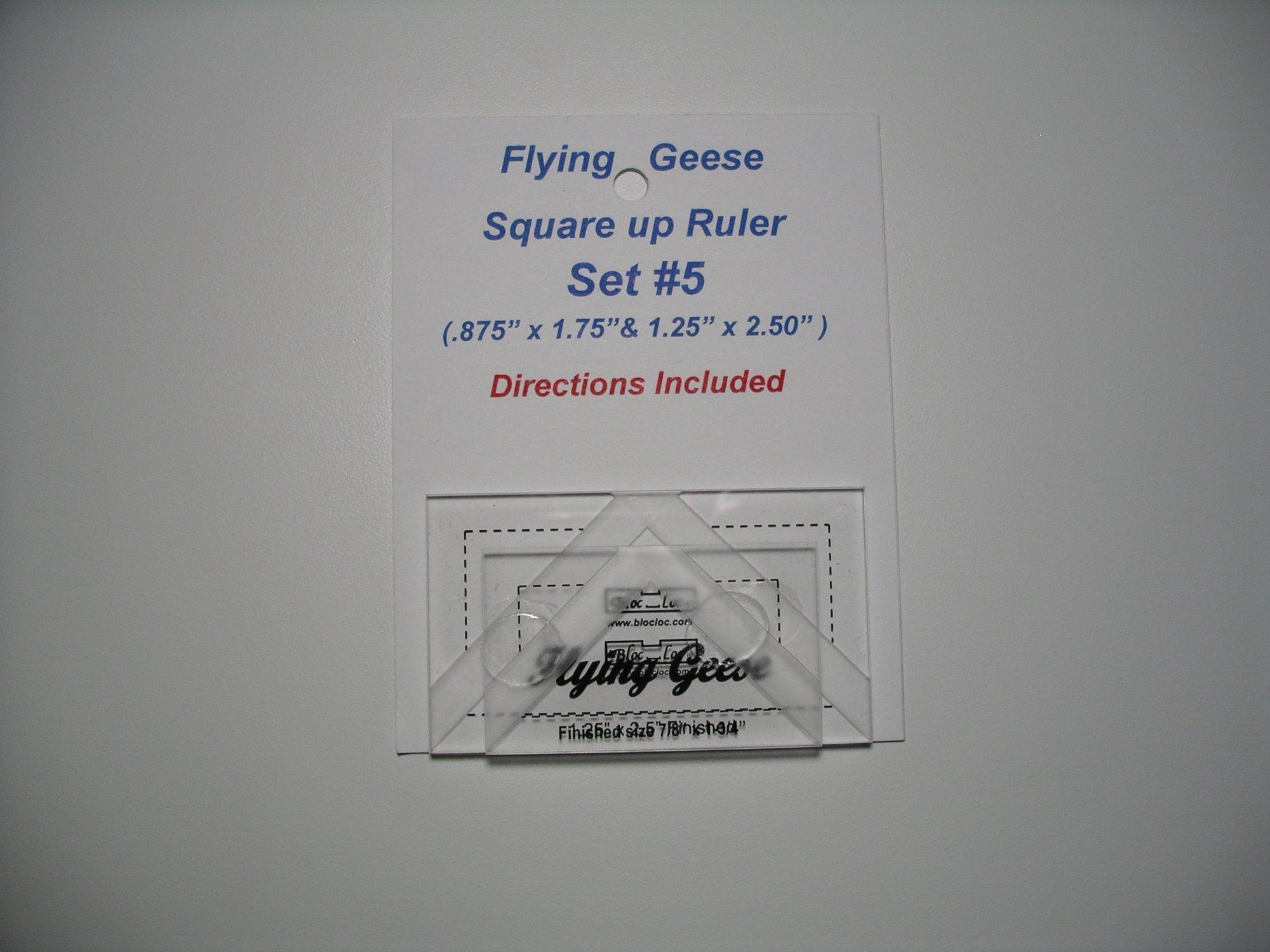 Bloc-Loc Flying Geese Set #5