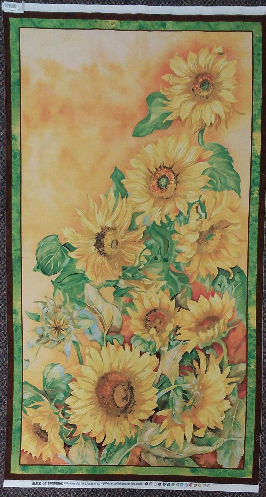 Sunflower Panel