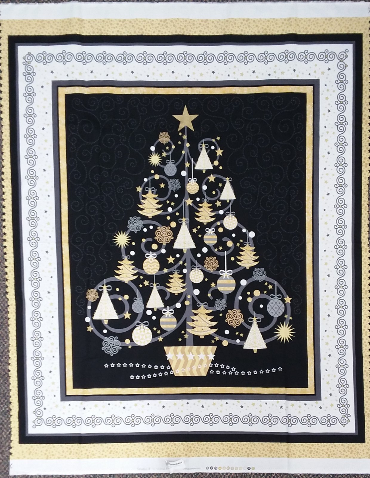 All That Glitters Tree Panel
