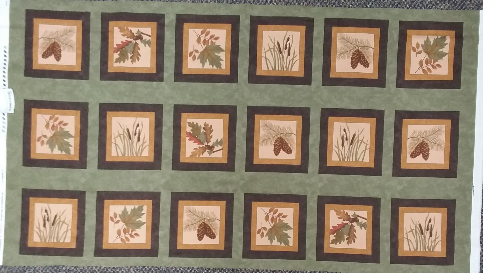 Fall Impressions Flannel Panel