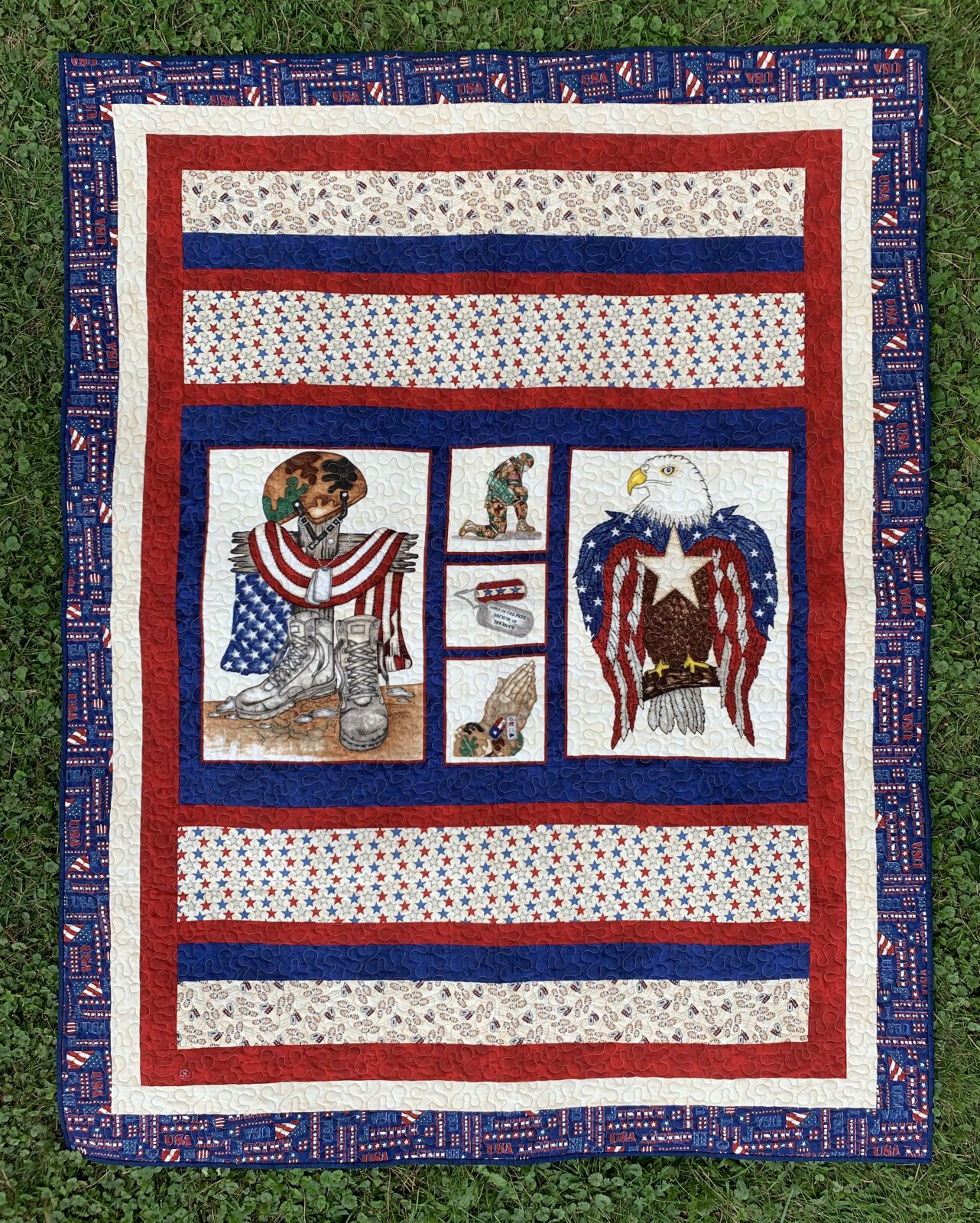 American Honor Quilt 57 x 74