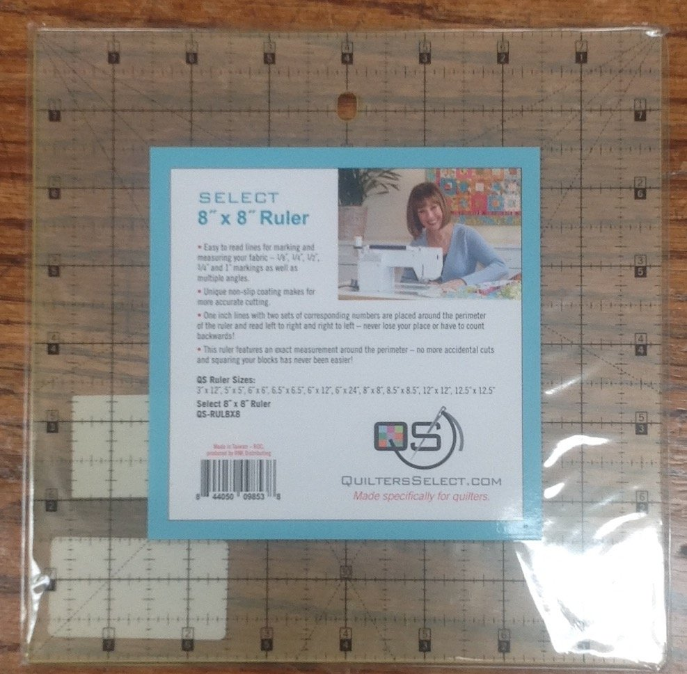 Quilter's Select 8 x 8 Ruler