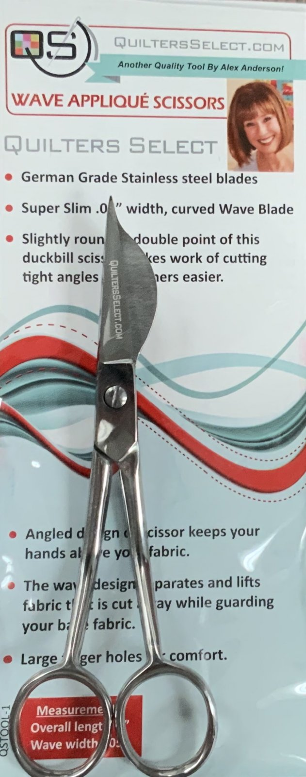 Quilter's Select Applique Scissors (Right)