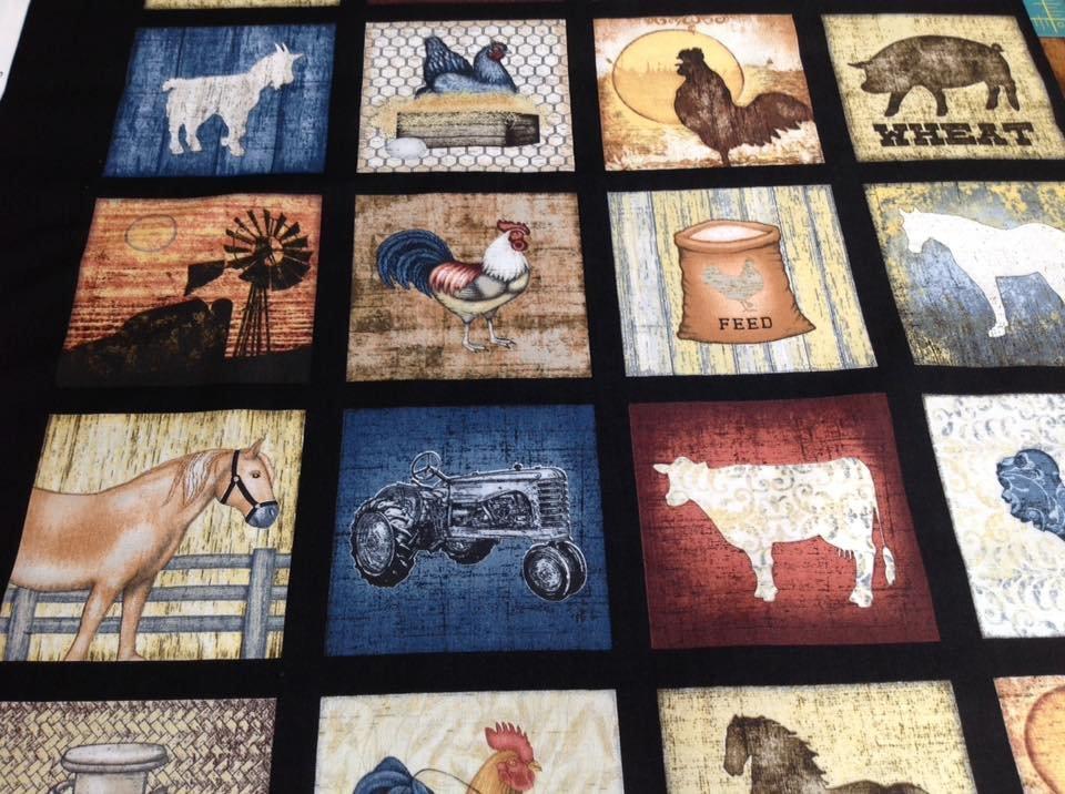 Bountiful Farm Animal Block Panel