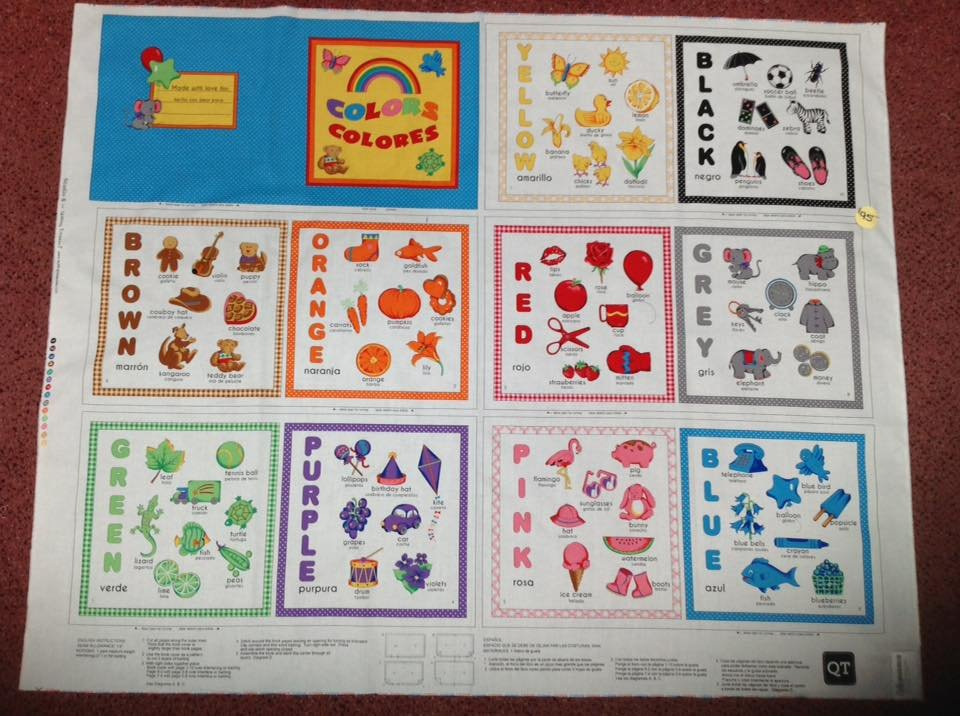 Color Book Soft Book Panel