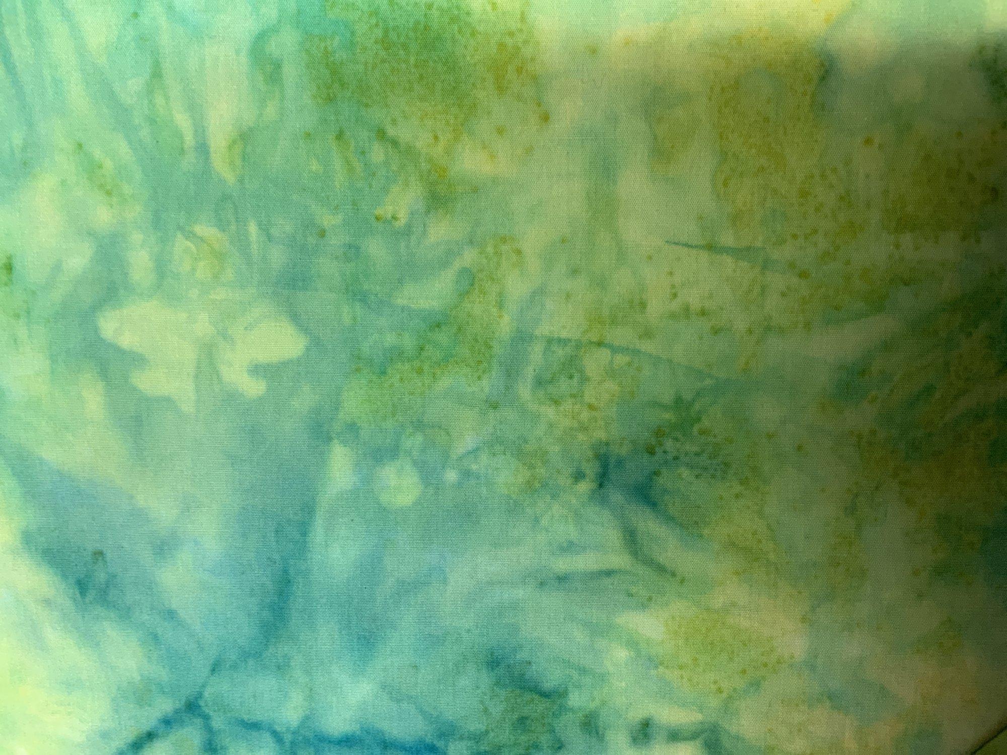 Yellow/Green Tone Batik