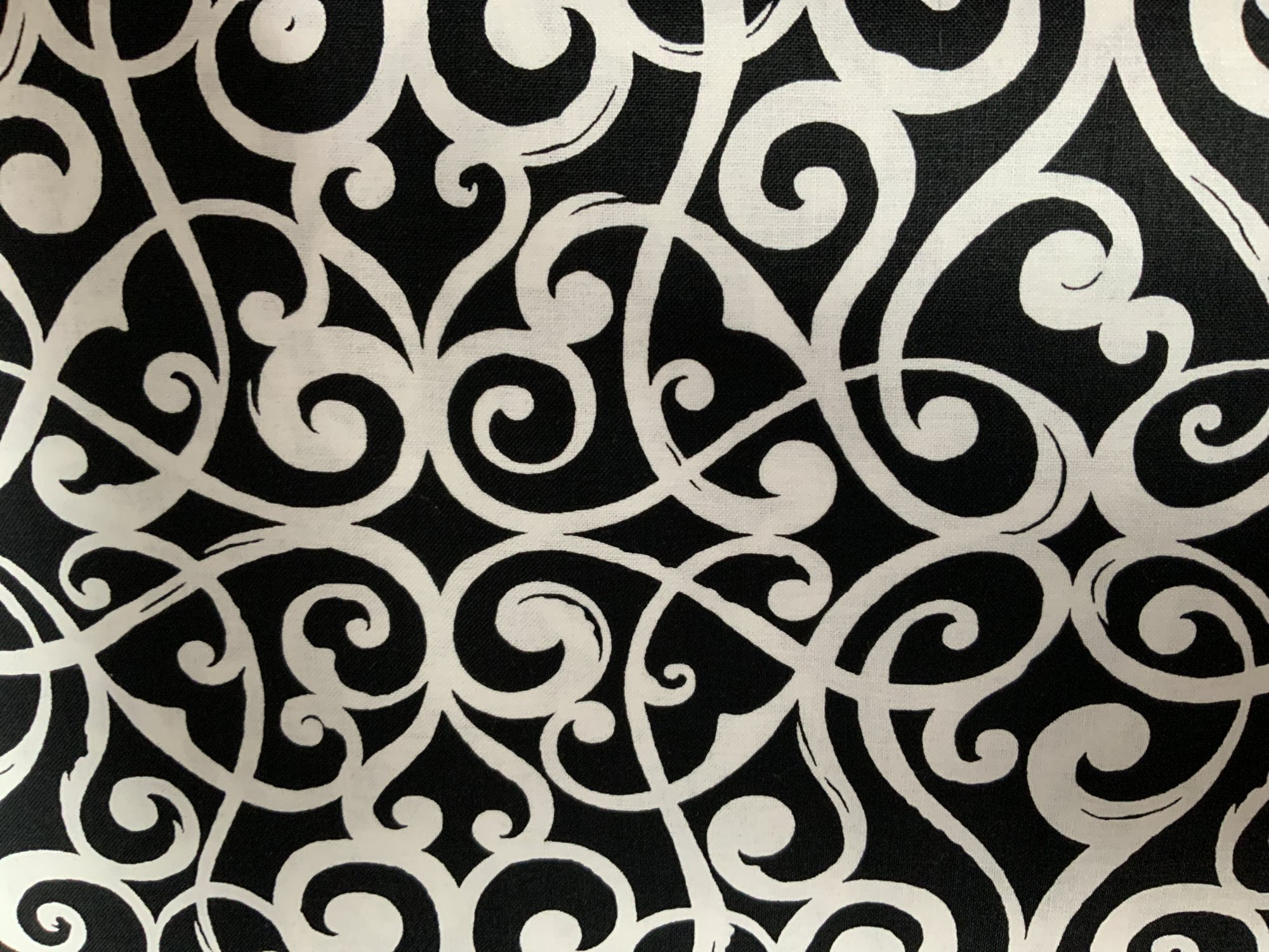 Black And White Scroll