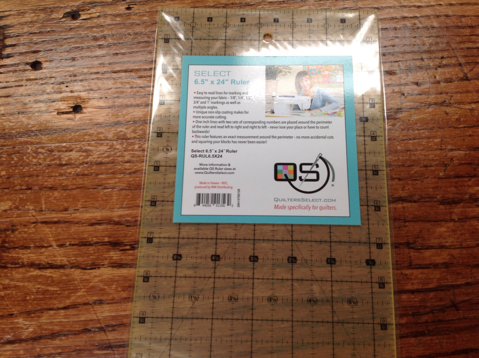 Quilter's Select 6.5 X 24 Ruler